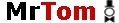 Logo: Mister Tom � Mr.Tom � MrTom  Thomas Wachsmann | K�nstler & K�nstleragentur  Zauberer, Clown, Feuershow, Stelzenl�ufer, Ballonfiguren, Kindergeburtstag  aus Dortmund im Ruhrgebiet in NRW, Nordrhein-Westfalen