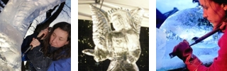 Eisskulpturen-Schnitzen, Ice-Carving LIVE, Eisschnitzen, Feuer und Eis, Fire and Ice, Eisfiguren • Künstleragentur MrTom aus Dortmund im Ruhrgebiet in Nordrhein-Westfalen / NRW